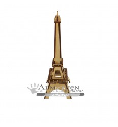 Torre Eiffel Laser Cl - 25cm - Lisa