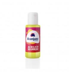 Aranjuez Acrilico X 50 002 Amarillo Limon