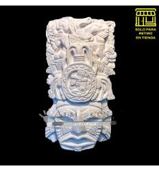 Placa Mascara Yeso Lcy - A Azteca Calendario (14x26)