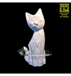 Placa Yeso Lcy - Gato (12x31)
