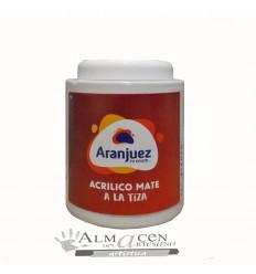 Aranjuez Acrilico Mate Tiza - 900cc - 401 Blanco