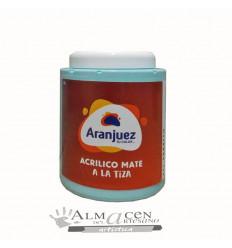Aranjuez Acrilico Mate Tiza - 900cc - 477 Paraiso