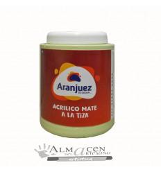 Aranjuez Acrilico Mate Tiza - 900cc - 475 Verde Agua