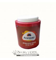 Aranjuez Acrilico Mate Tiza - 900cc - 487 Cereza