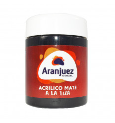 Aranjuez Acrilico Mate Tiza - 900cc - 424 Negro