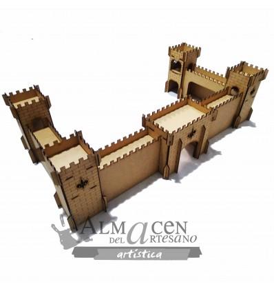 Castillo Fuerte Laser 82x42x22